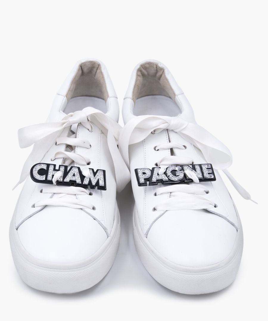 Champagne trainers patch set