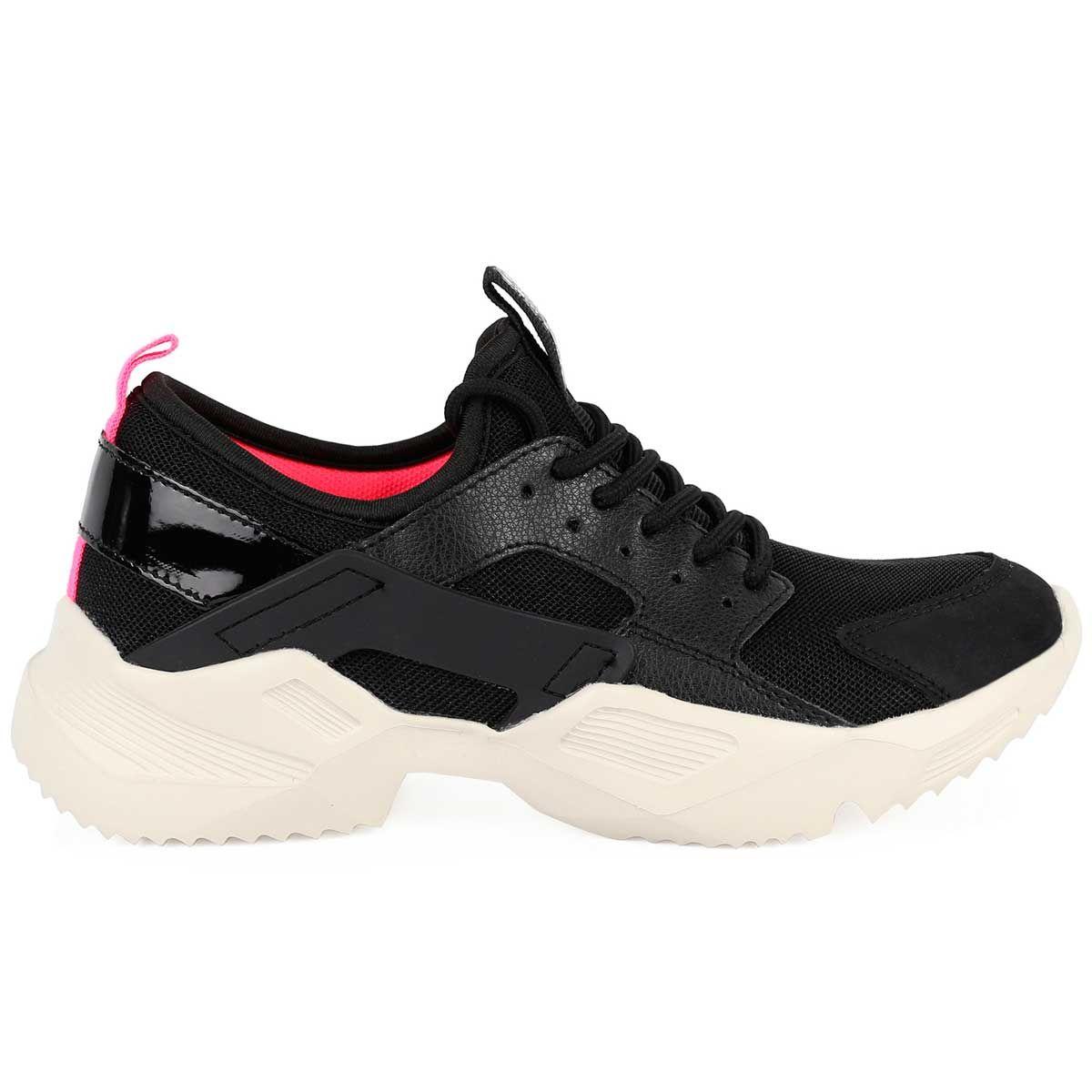 Montevita Chunky Sneaker in Black