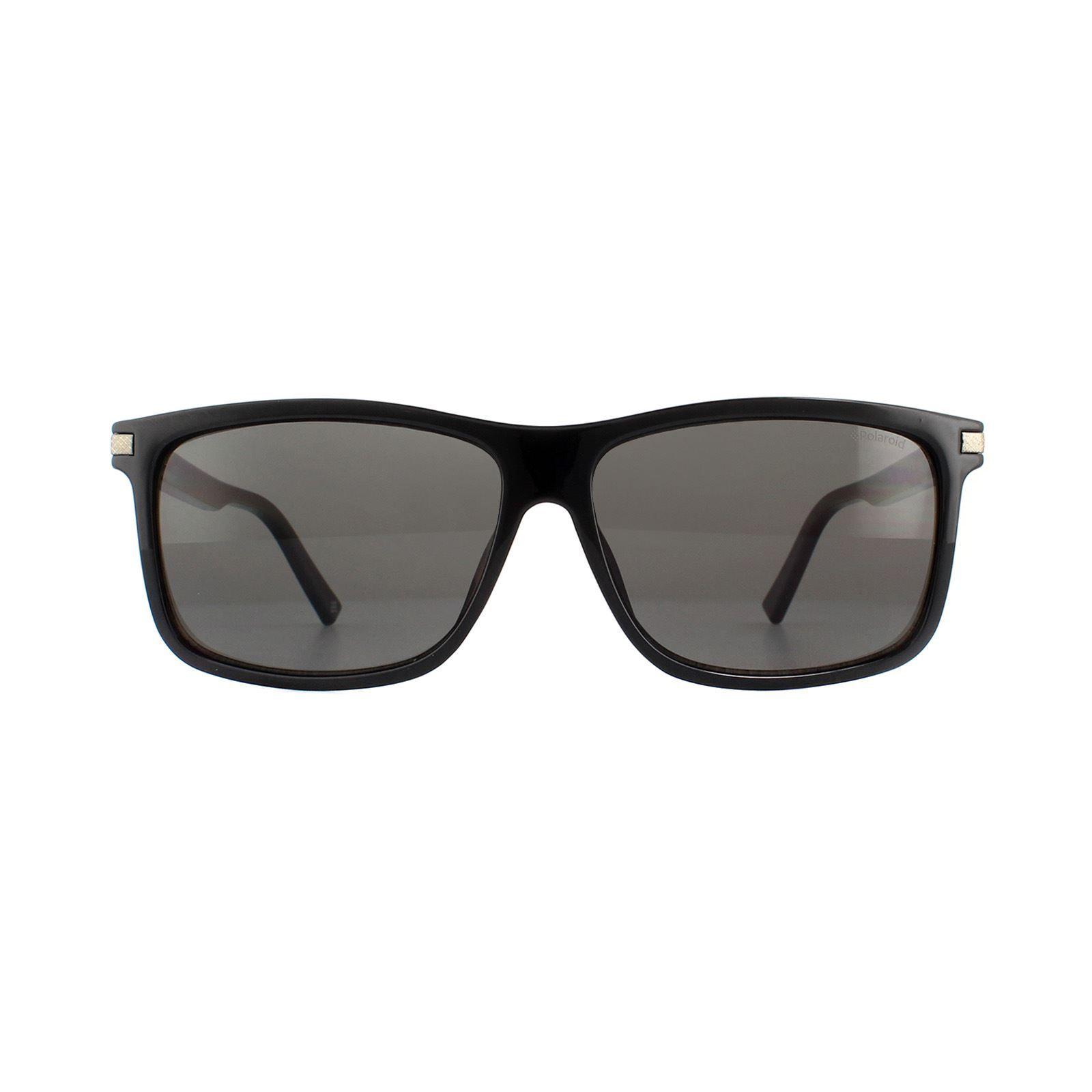 Polaroid Sunglasses PLD 2075/S/X 807 M9 Black Grey Polarized
