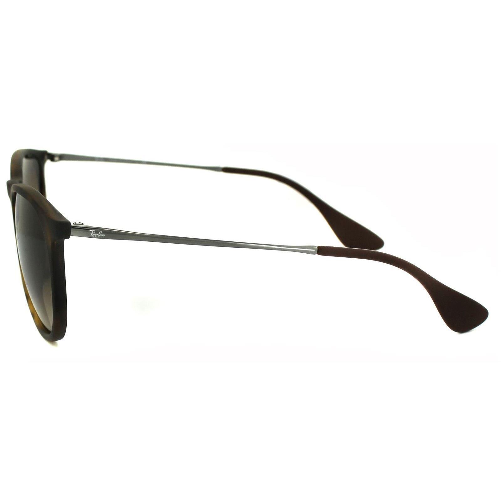 Ray-Ban Sunglasses Erika 4171 Rubberised Havana Brown Gradient 865/13