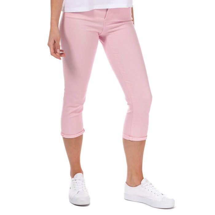 Women's Levi's 311 Shaping Capri Skinny Jeans In Pink