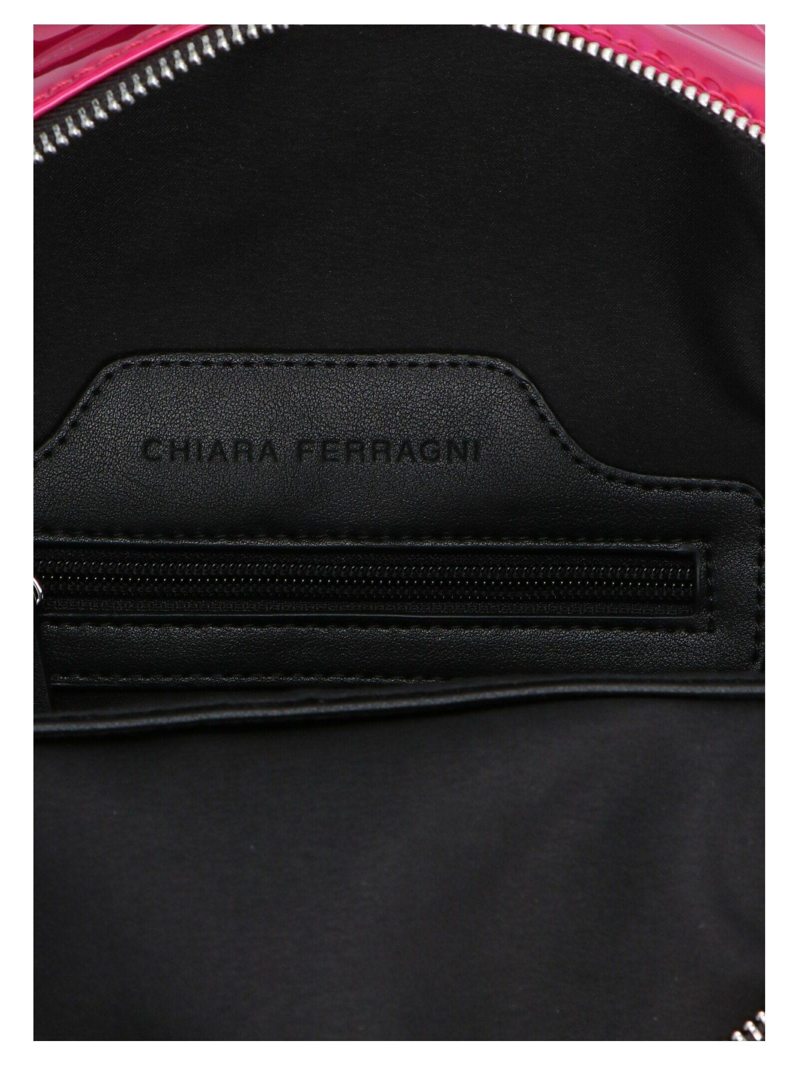 CHIARA FERRAGNI WOMEN'S CFZ2069PINK FUCHSIA PVC BACKPACK