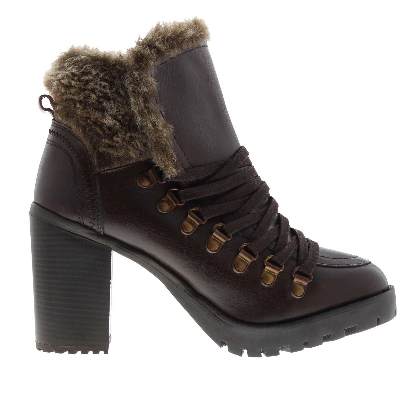 Firetrap Womens Quarry Heeled Boots
