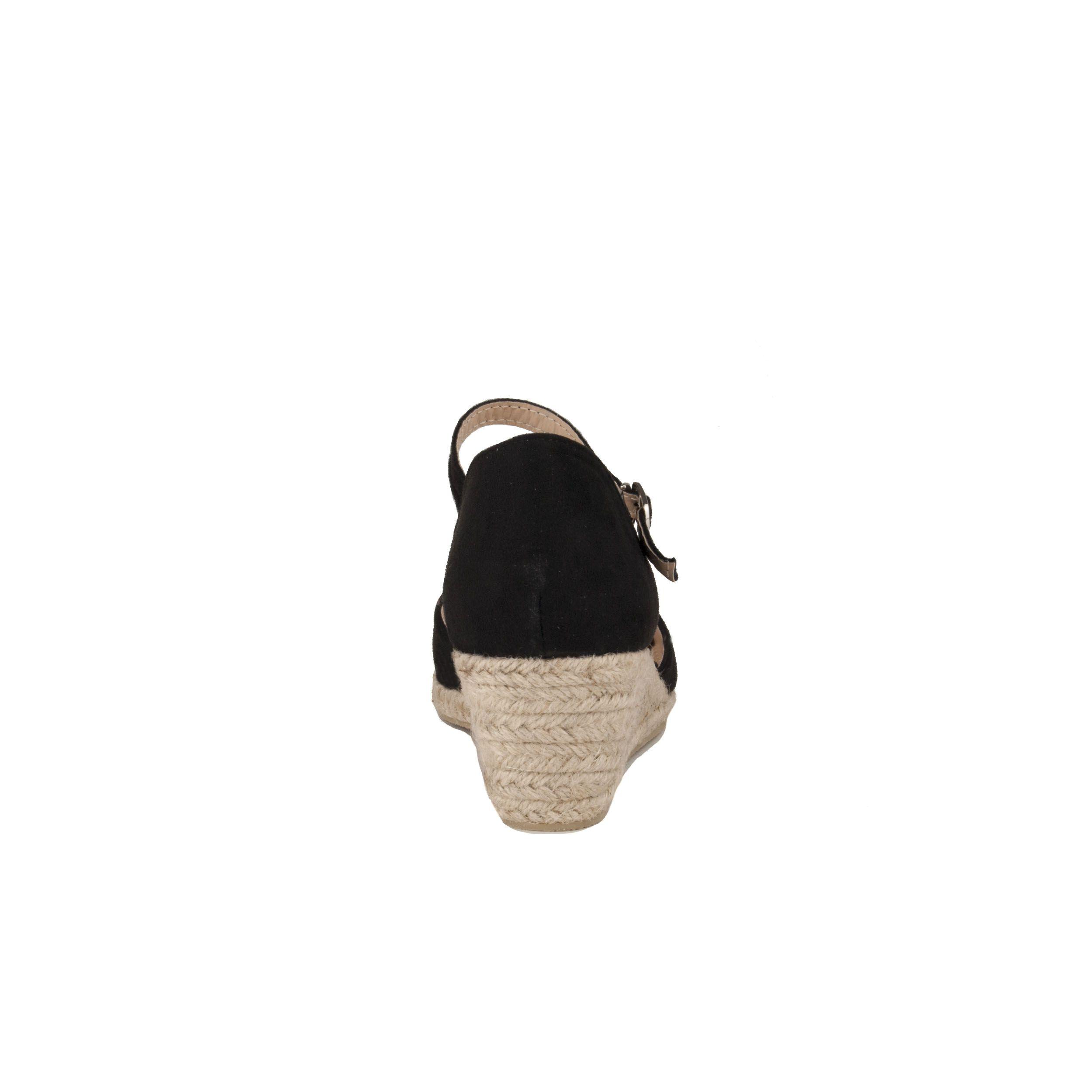Montevita Wedge Shoe in Black