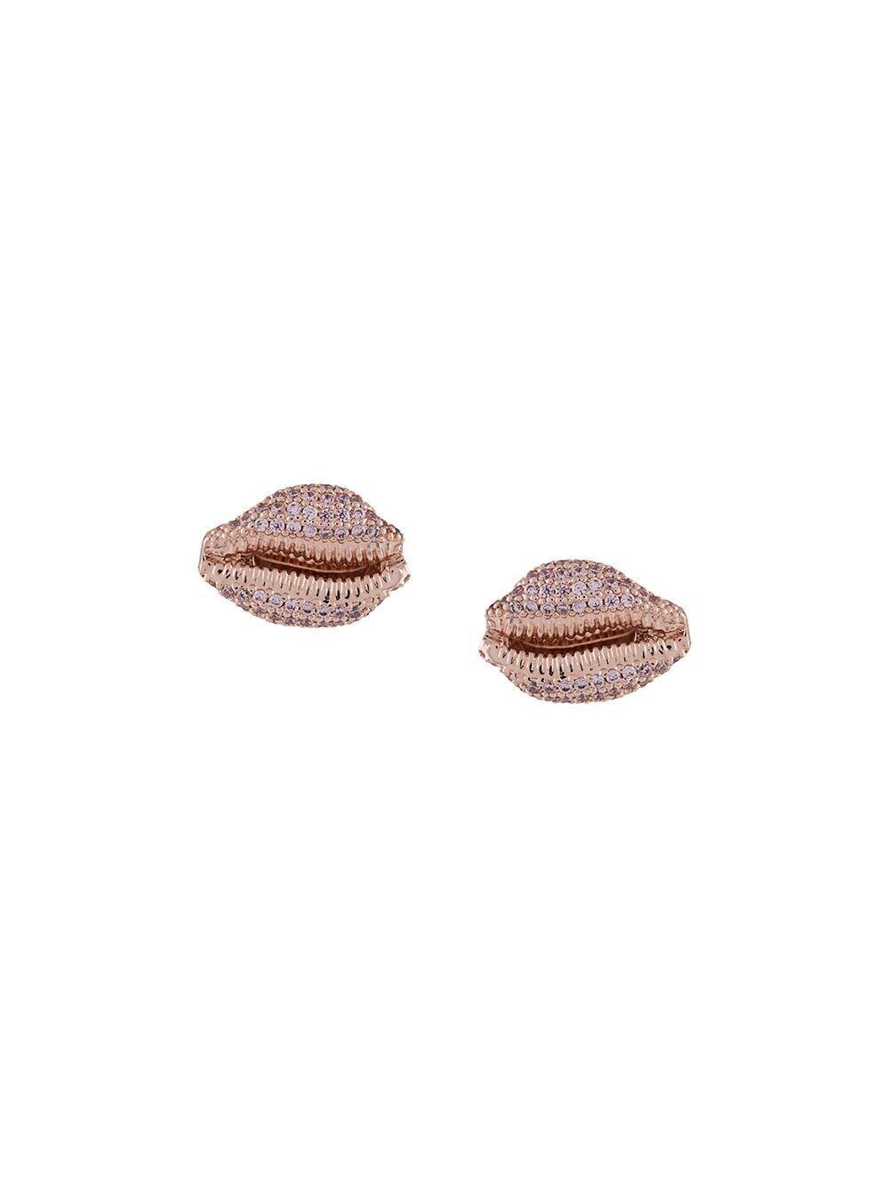 VIVIENNE WESTWOOD WOMEN'S 62010175G109SMG109 PINK METAL EARRINGS