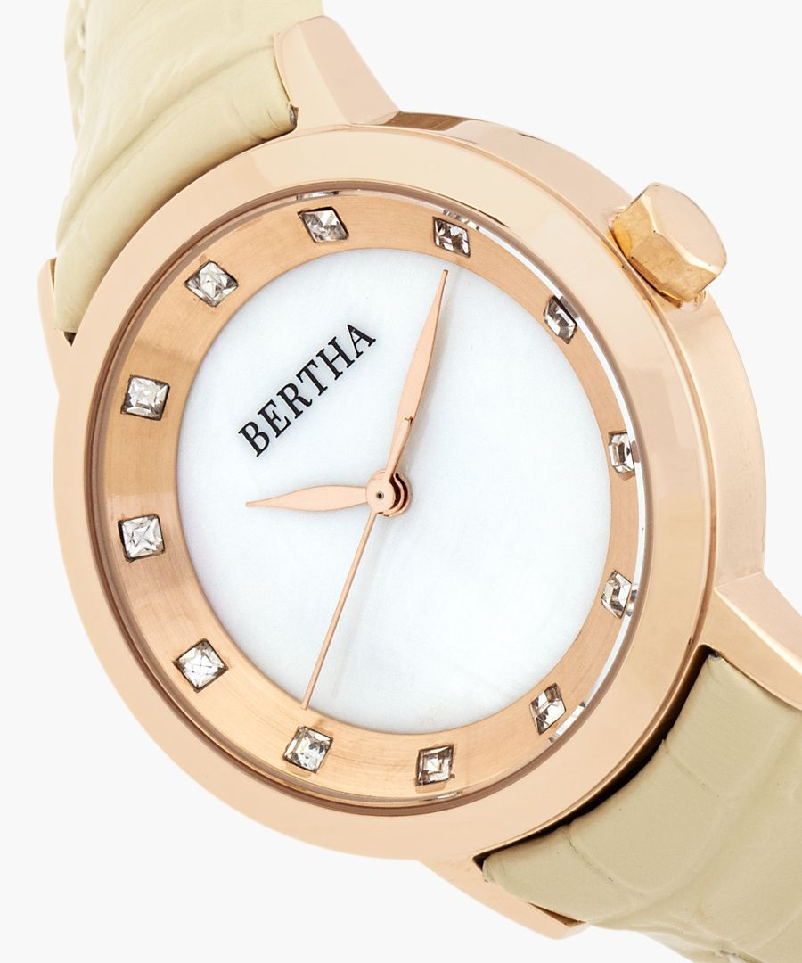 Cecelia cream watch