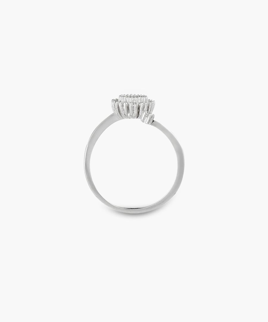 Rosace silver ring