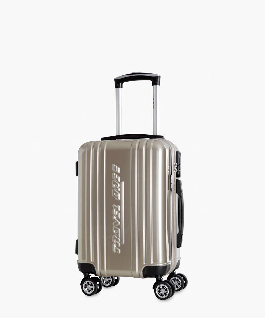 Rodriguez beige cabin suitcase