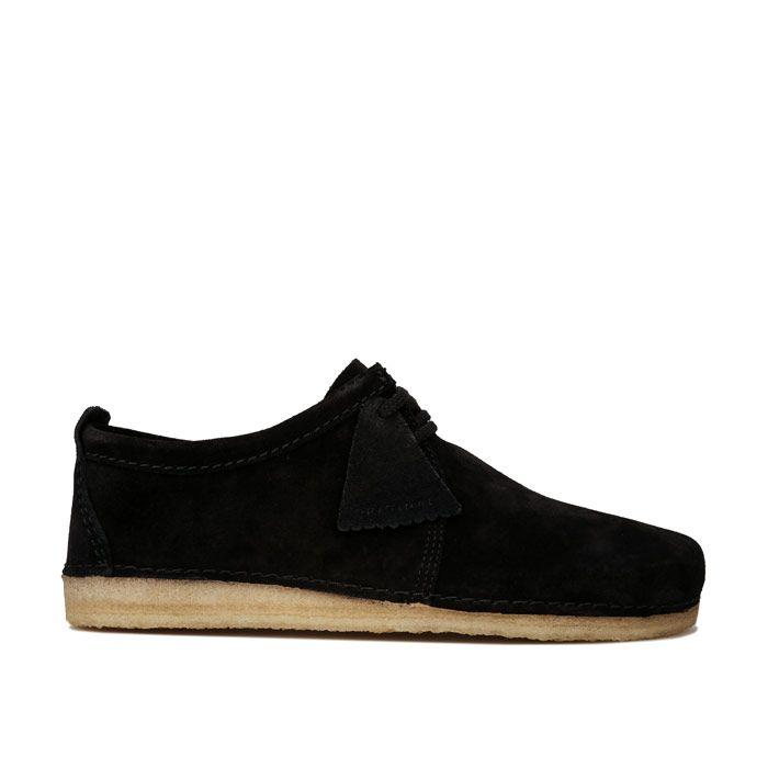 Men's Clarks Originals Ashton Shoes in Black