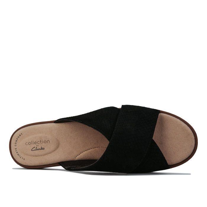 Women's Clarks Declan Ivy Sandals in Black