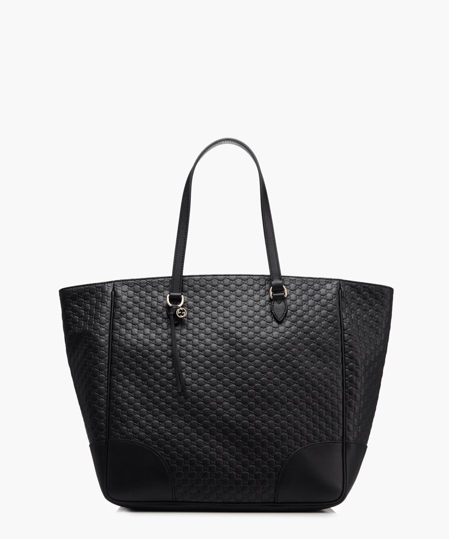 Bree black Guccissima leather shopper