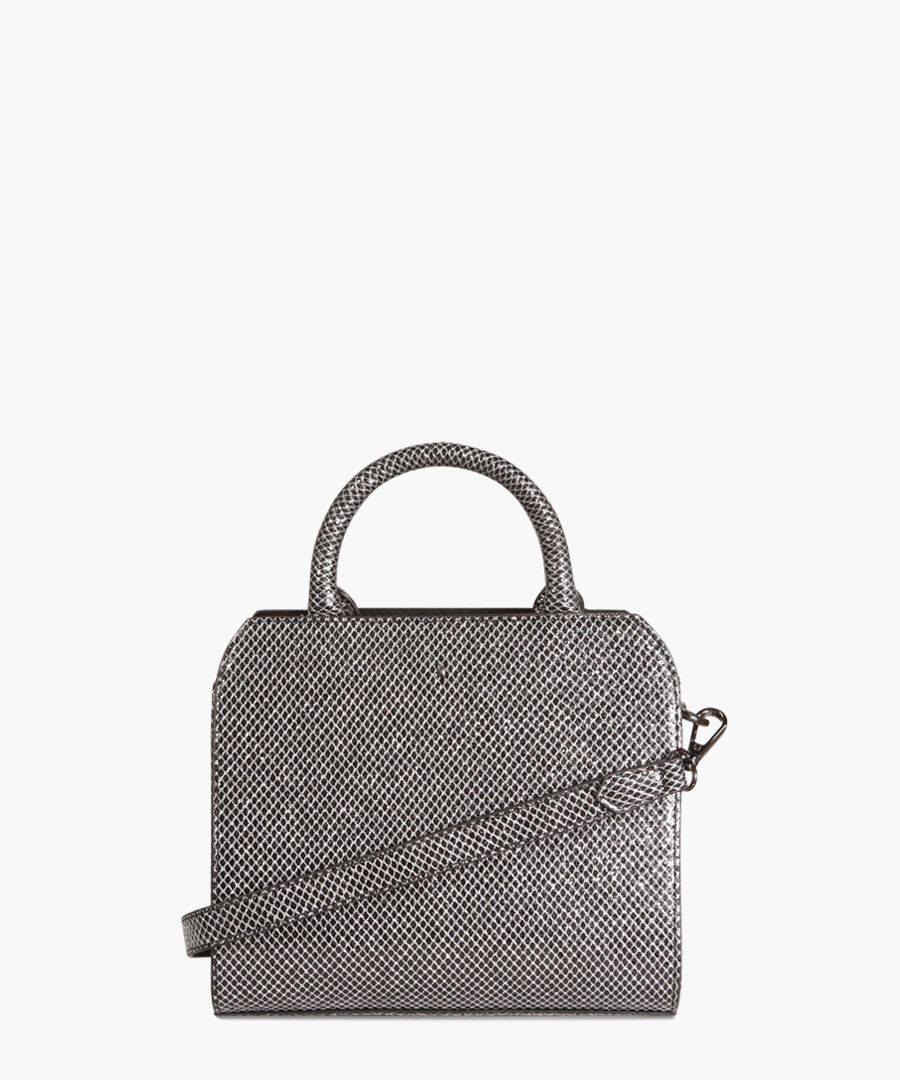 Mini Logan The Draycott Collection gunmetal grab bag