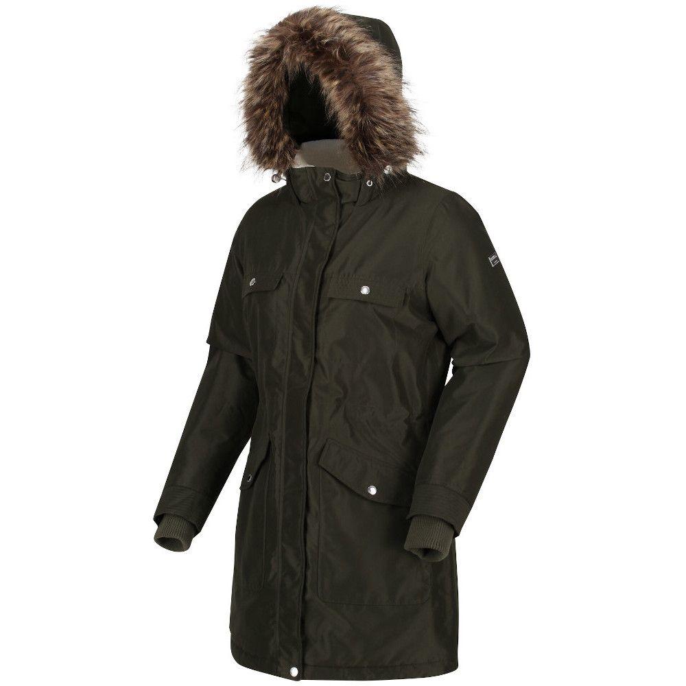 Regatta Womens Samiyah Waterproof Hooded Parka Jacket Coat