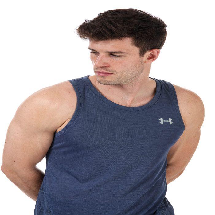Men's Under Armour Streaker 2.0 Shift Vest in Blue