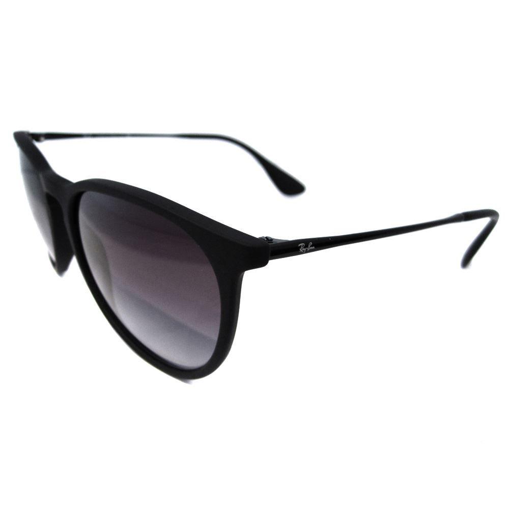 Ray-Ban Sunglasses Erika 4171 Rubberised Black Grey Gradient 622/8G