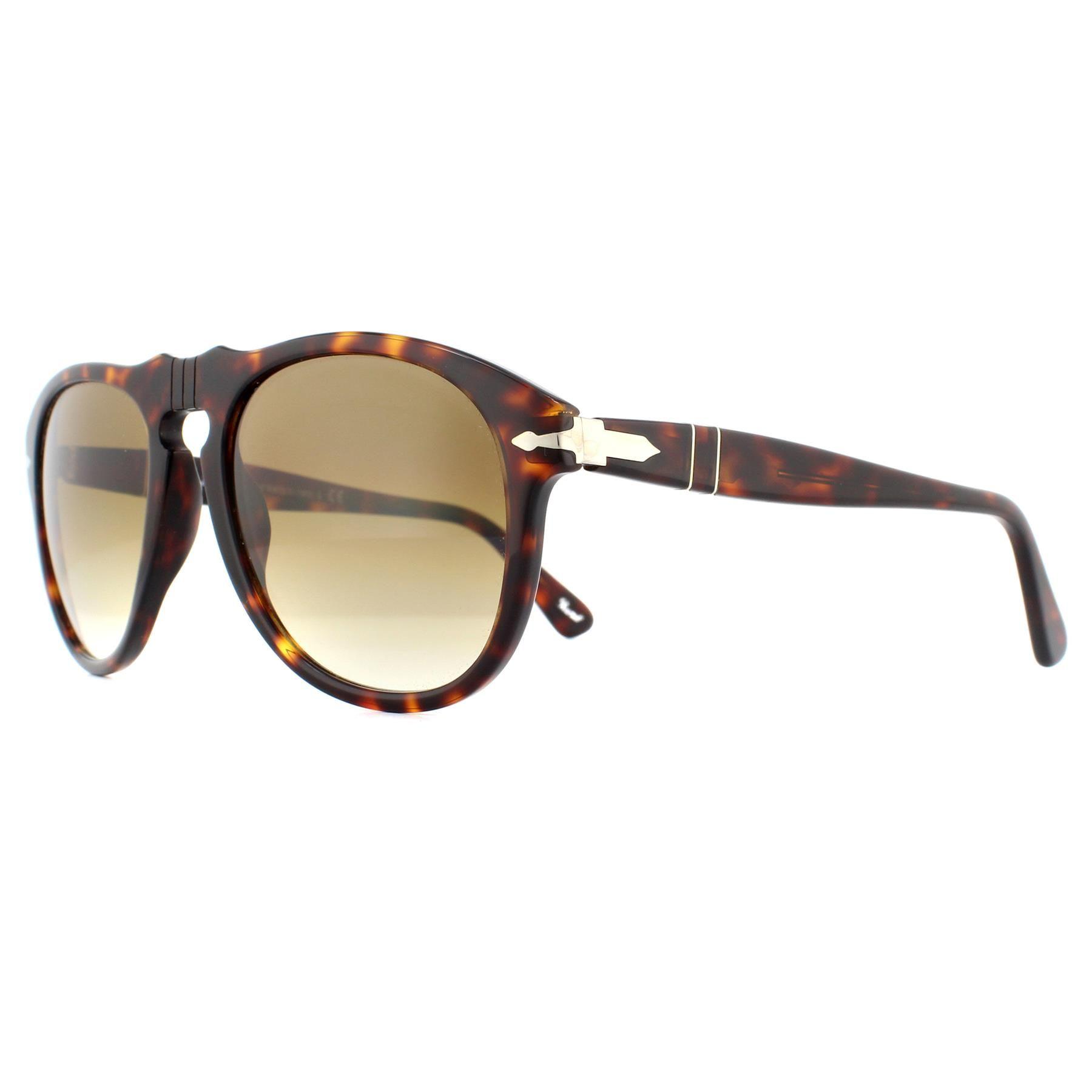 Persol Sunglasses 0649 24/51 Havana Brown Gradient Steve McQueen 52mm