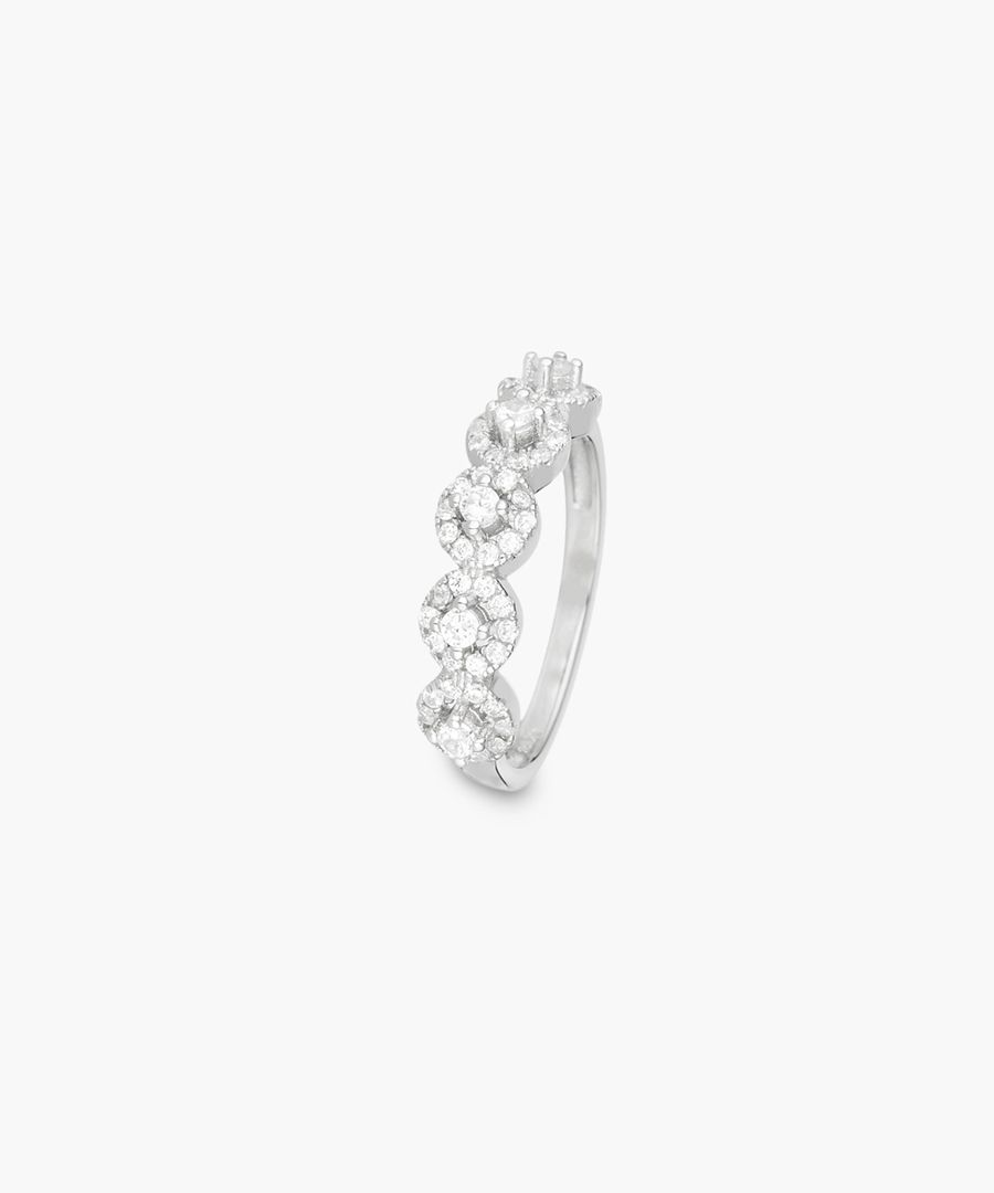 Passion Ardente silver ring