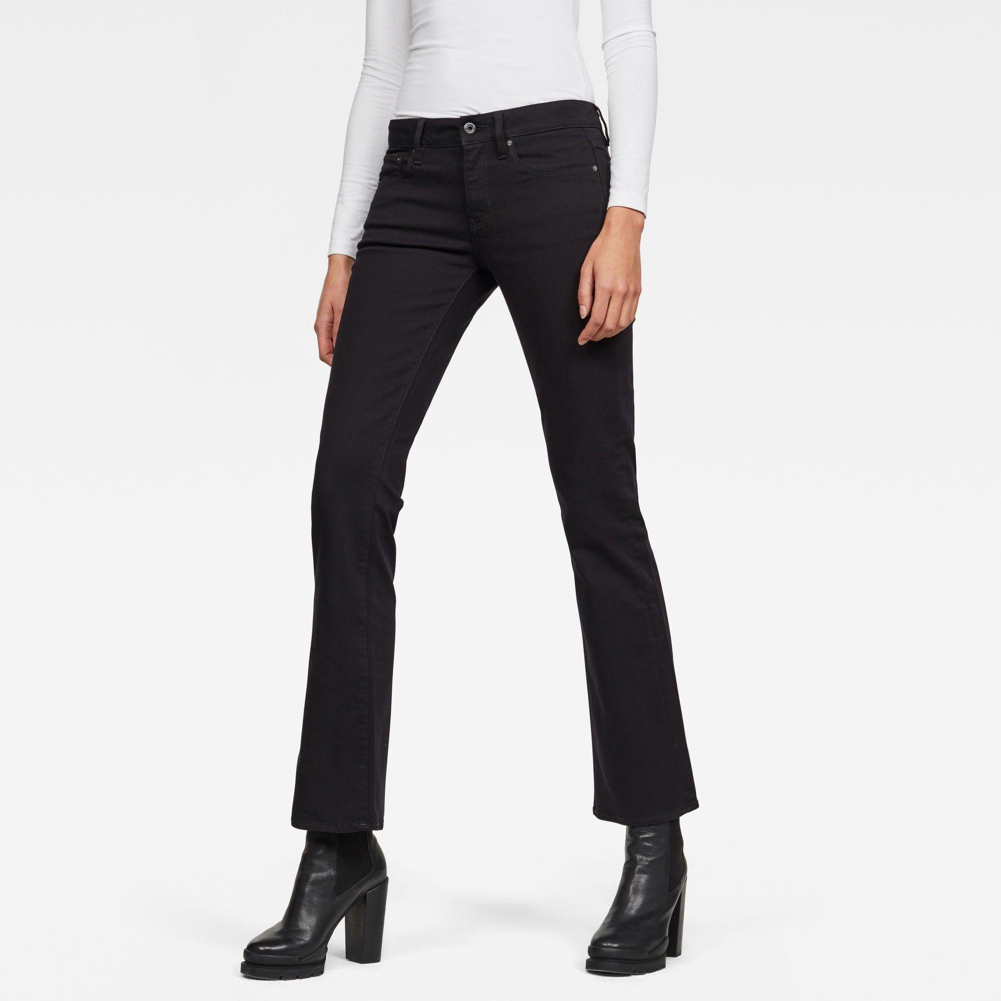 G-Star RAW 3301 Skinny Bootcut Jeans