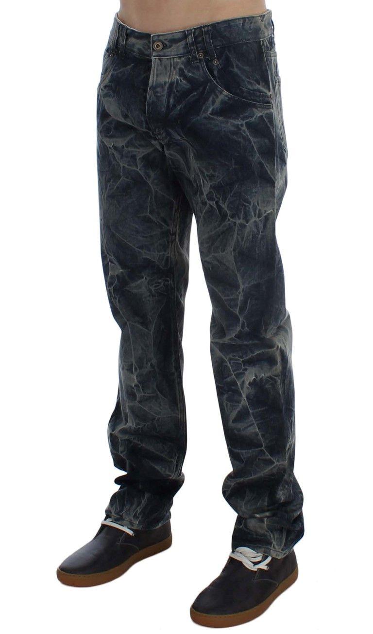 EXTE Blue Wash Cotton Regular Fit Jeans