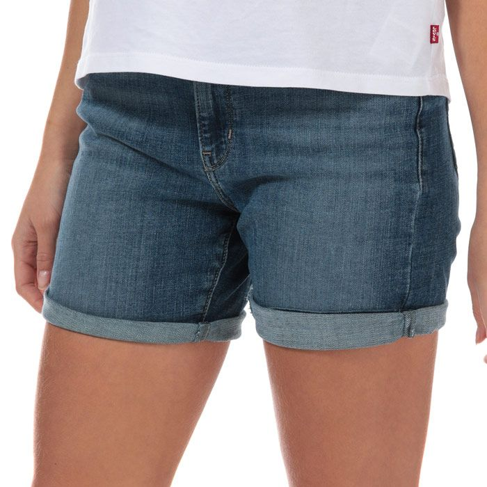 Women's Levis Global Classic Shorts in Denim