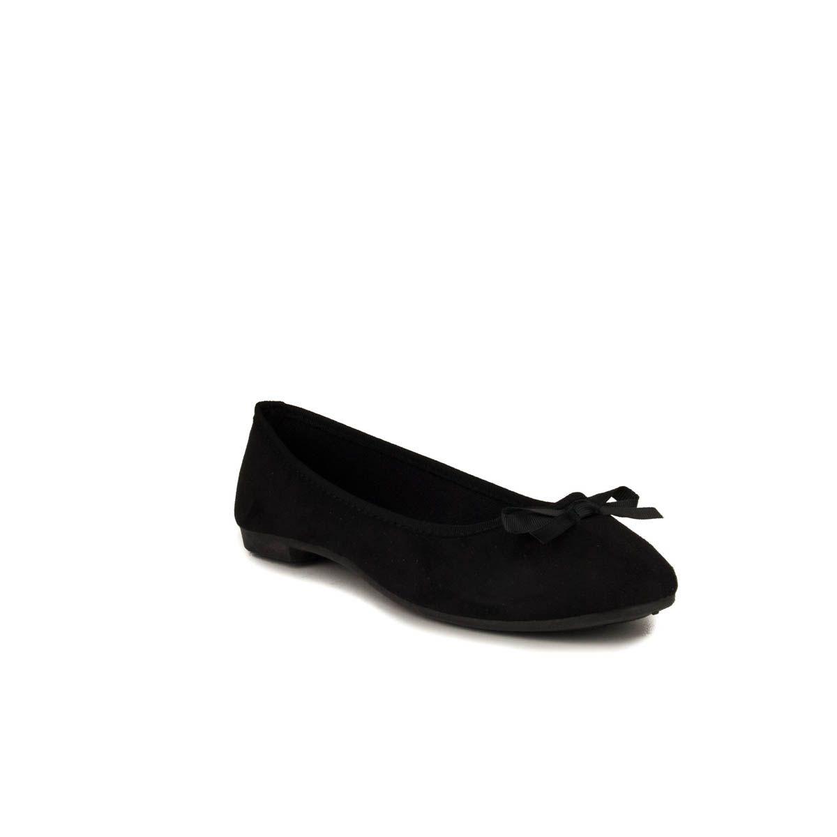 Montevita Ballet Flat in Black