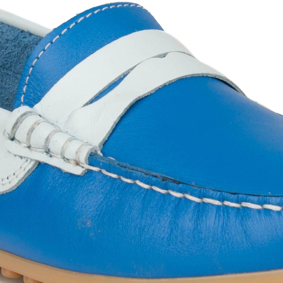 Montevita Comfortable Moccasin in Blue