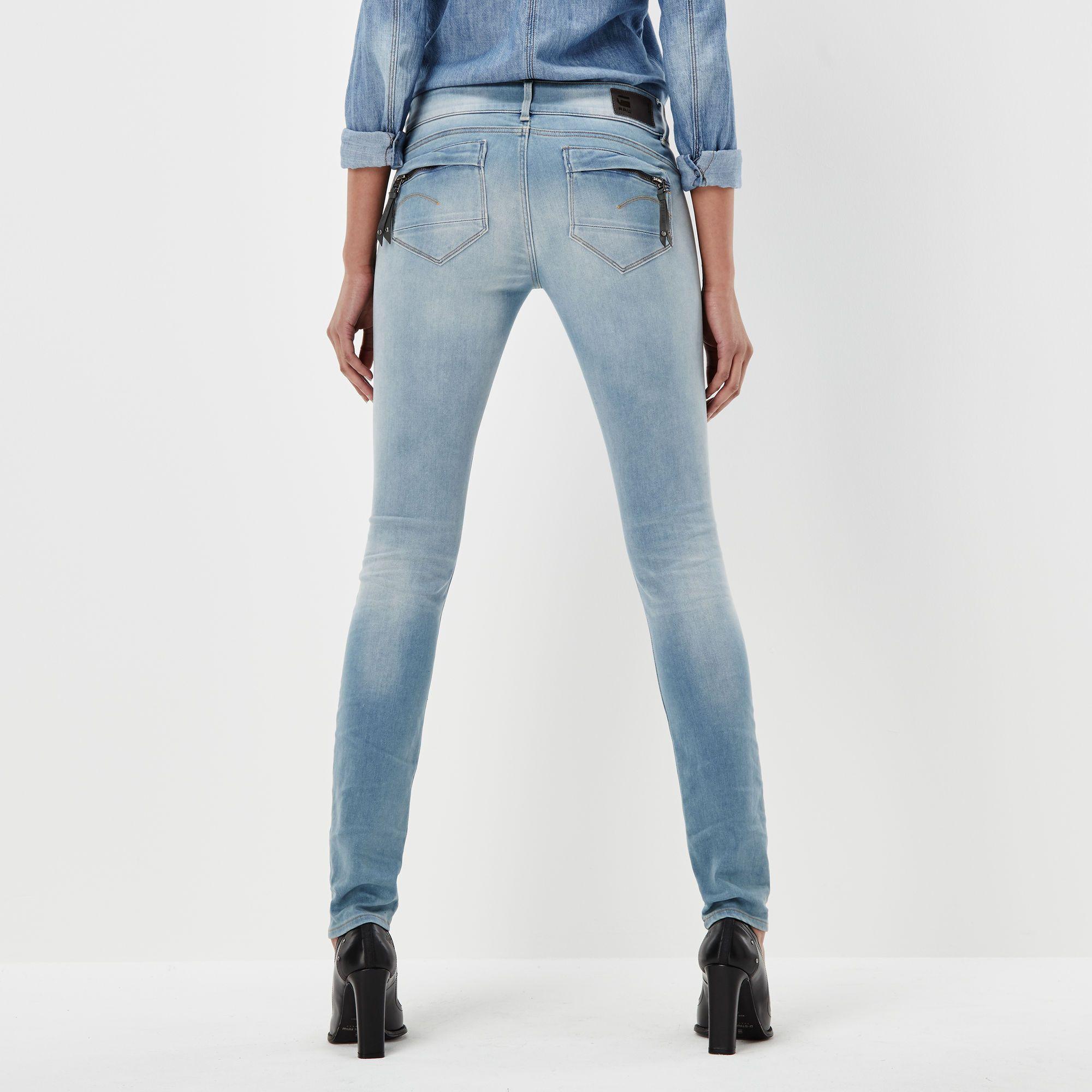 G-Star RAW Midge Cody Mid Skinny Jeans