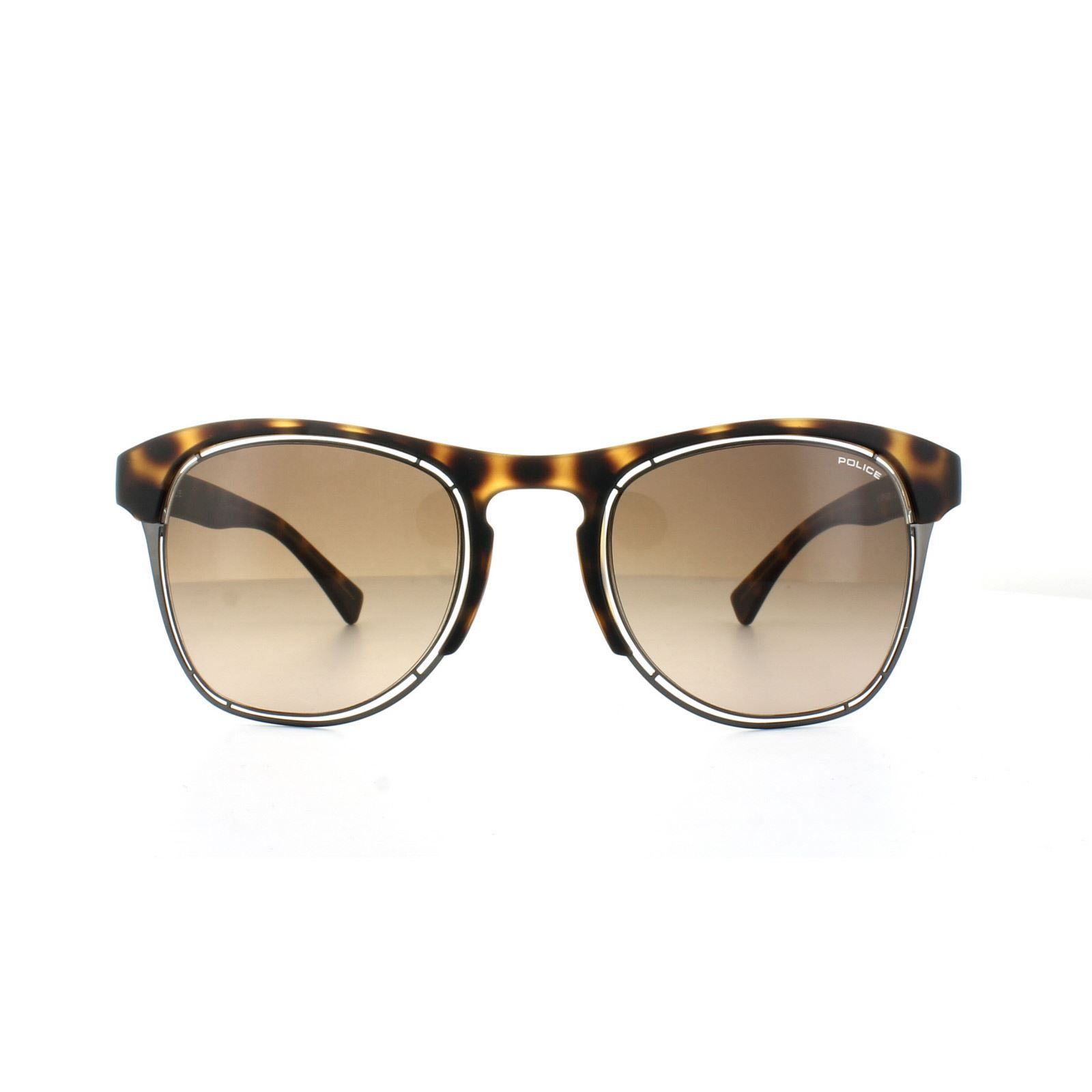 Police Sunglasses S1954 Offside 1 0738 Havana Brown Gradient
