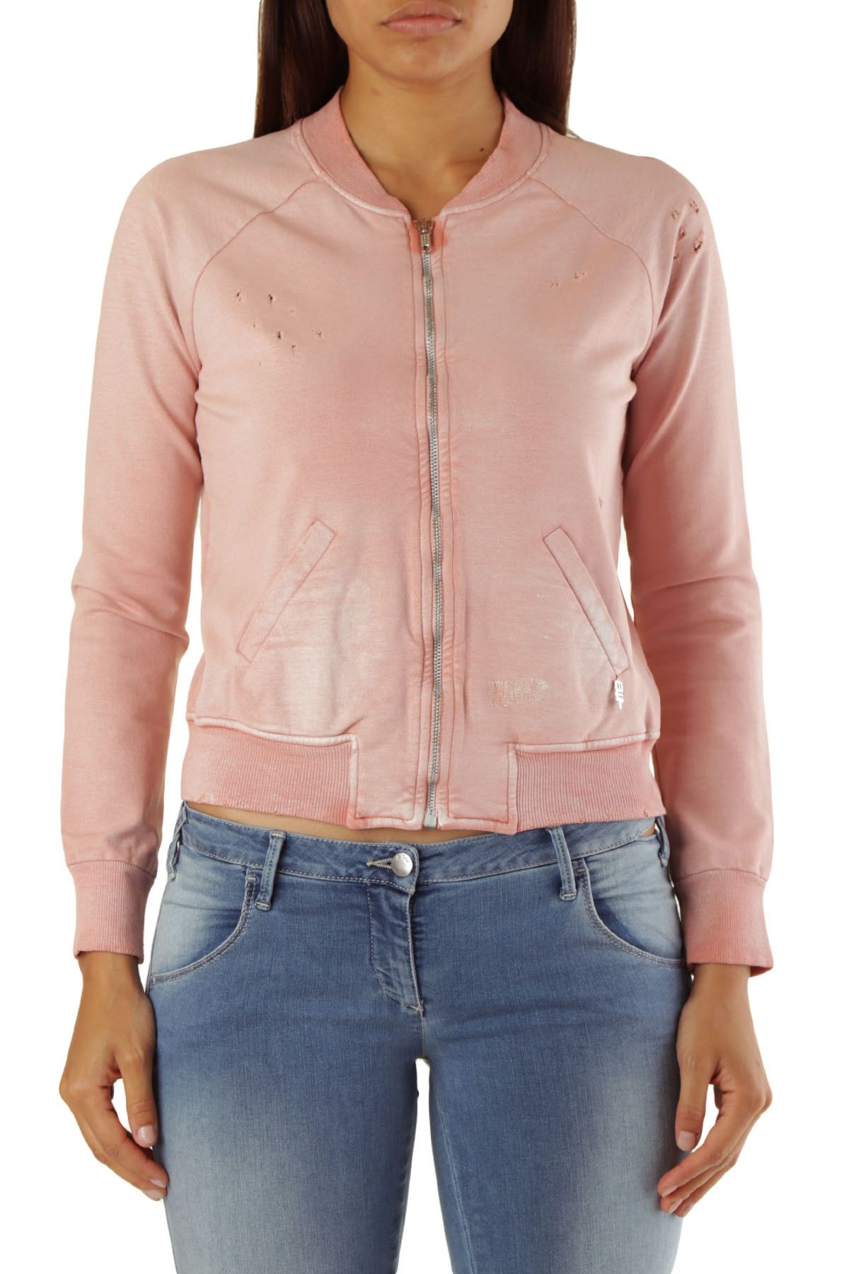 Met Women's Sweatshirt In Pink
