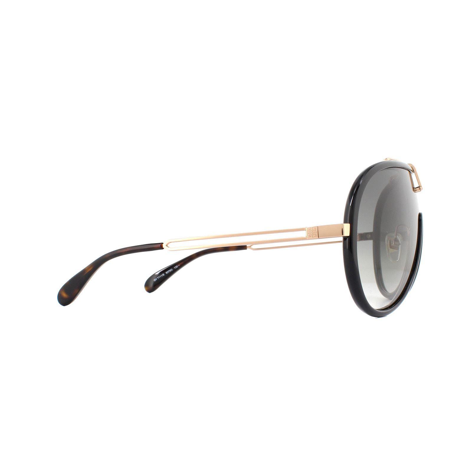 Givenchy Sunglasses GV 7111/S 807 9O Black Dark Grey Gradient