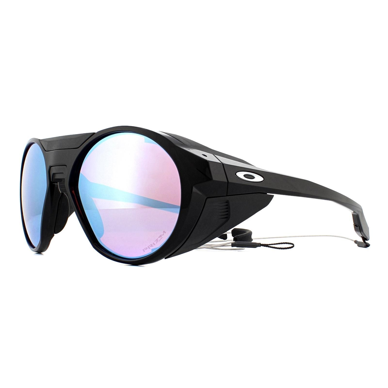 Oakley Sunglasses Clifden OO9440-02 Polished Black Prizm Snow Sapphire