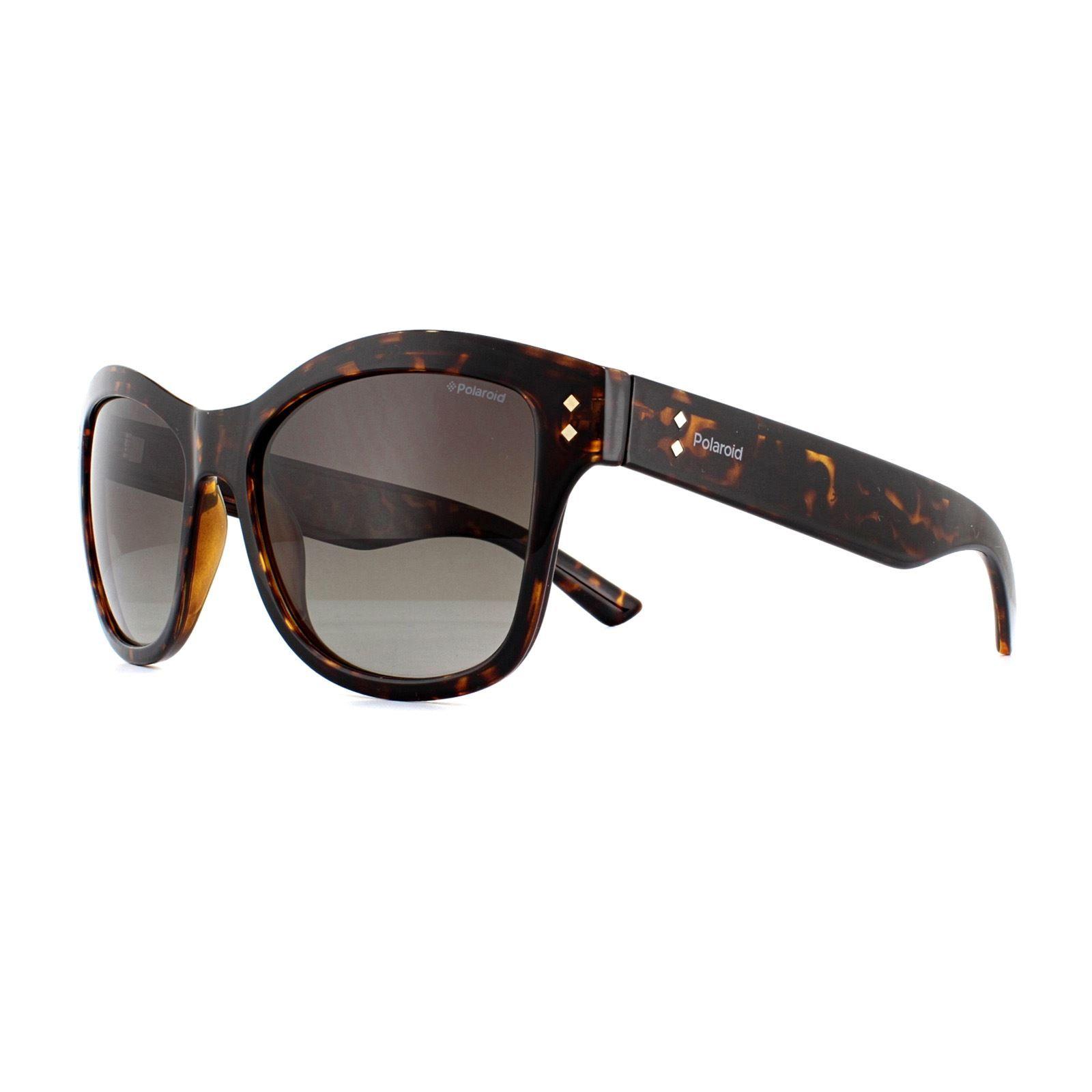 Polaroid Sunglasses PLD 4034/S 086 94 Dark Havana Brown Gradient Polarized