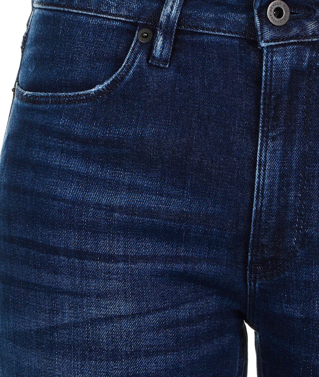 DONDUP WOMEN'S DP450DS0265W43800 BLUE COTTON JEANS