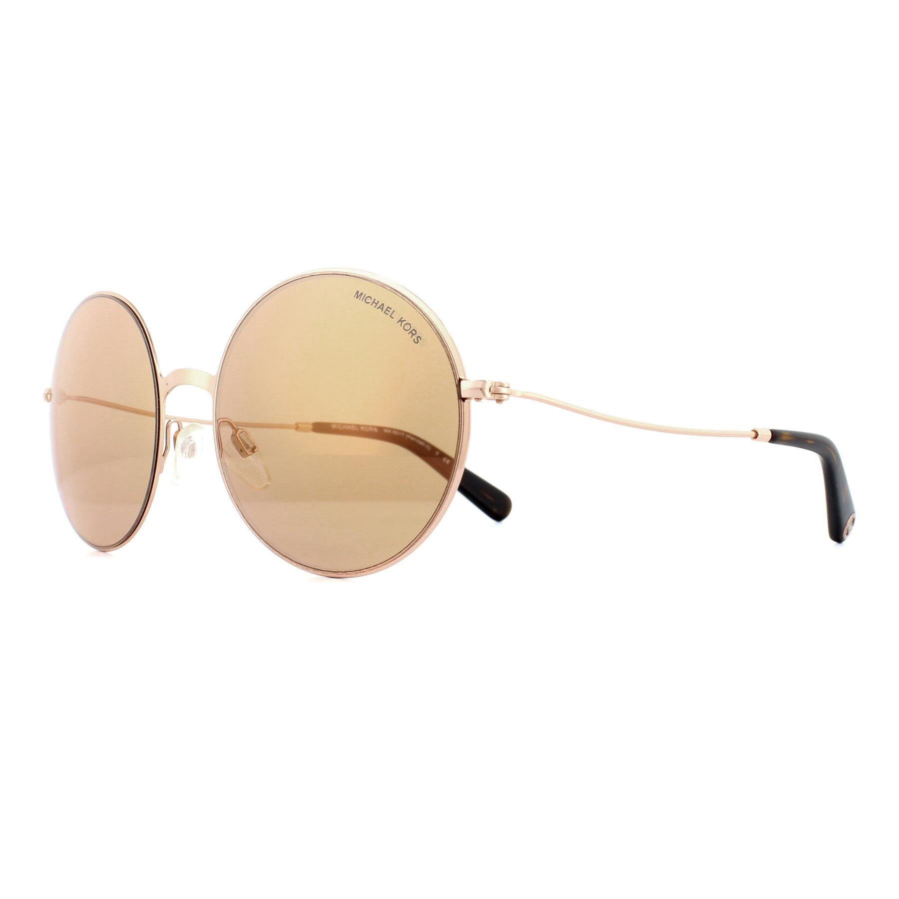 Michael Kors Sunglasses Kendall II 5017 1026R1 Rose Gold Rose Gold Flash