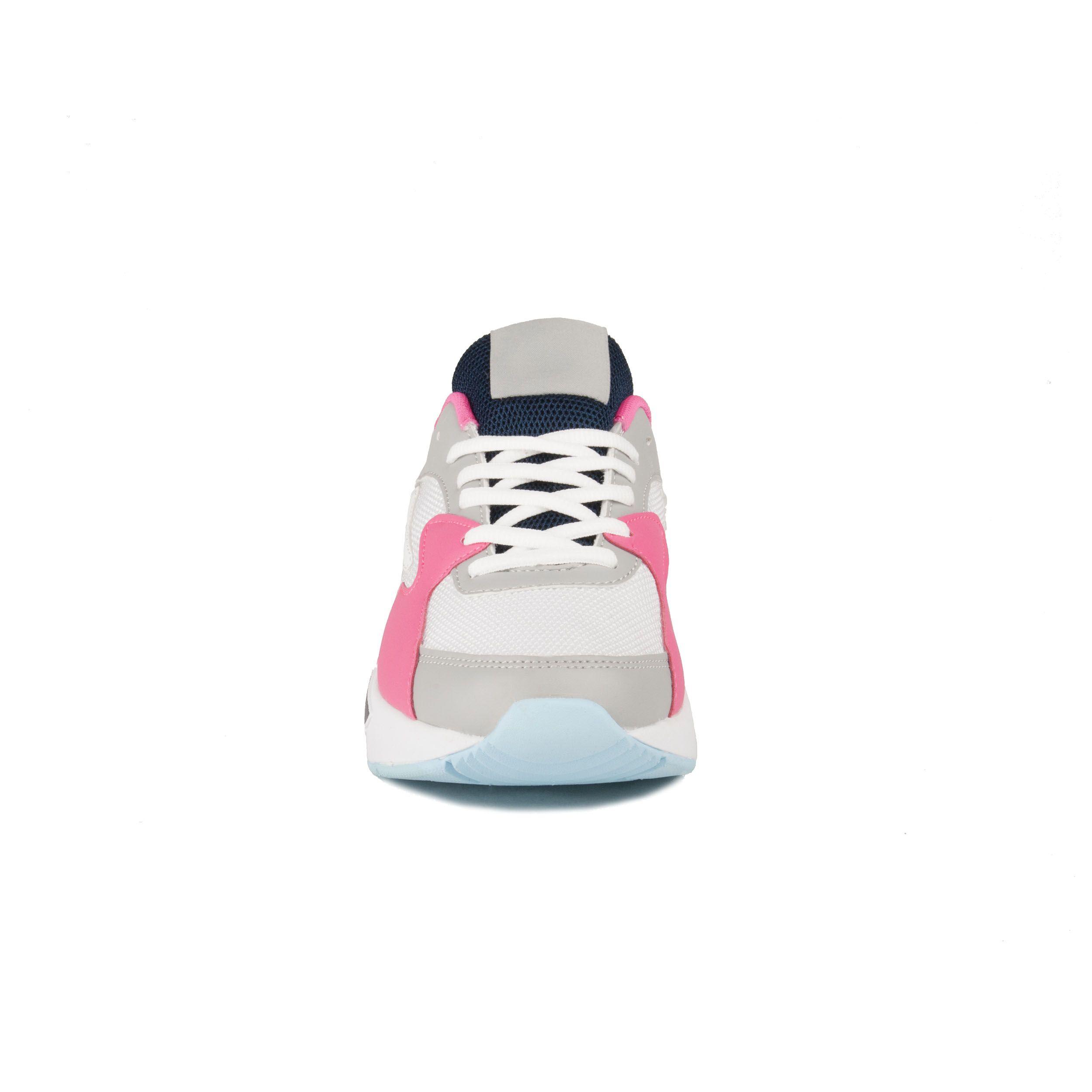Montevita Comfortable Sneaker in Fuchsia