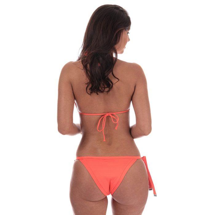 Women's Seafolly Slide Triangle Bikini Top in Orange