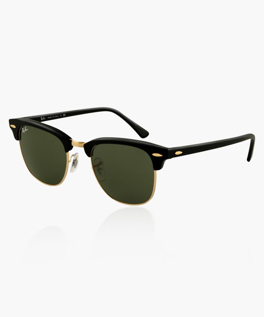 Clubmaster black sunglasses