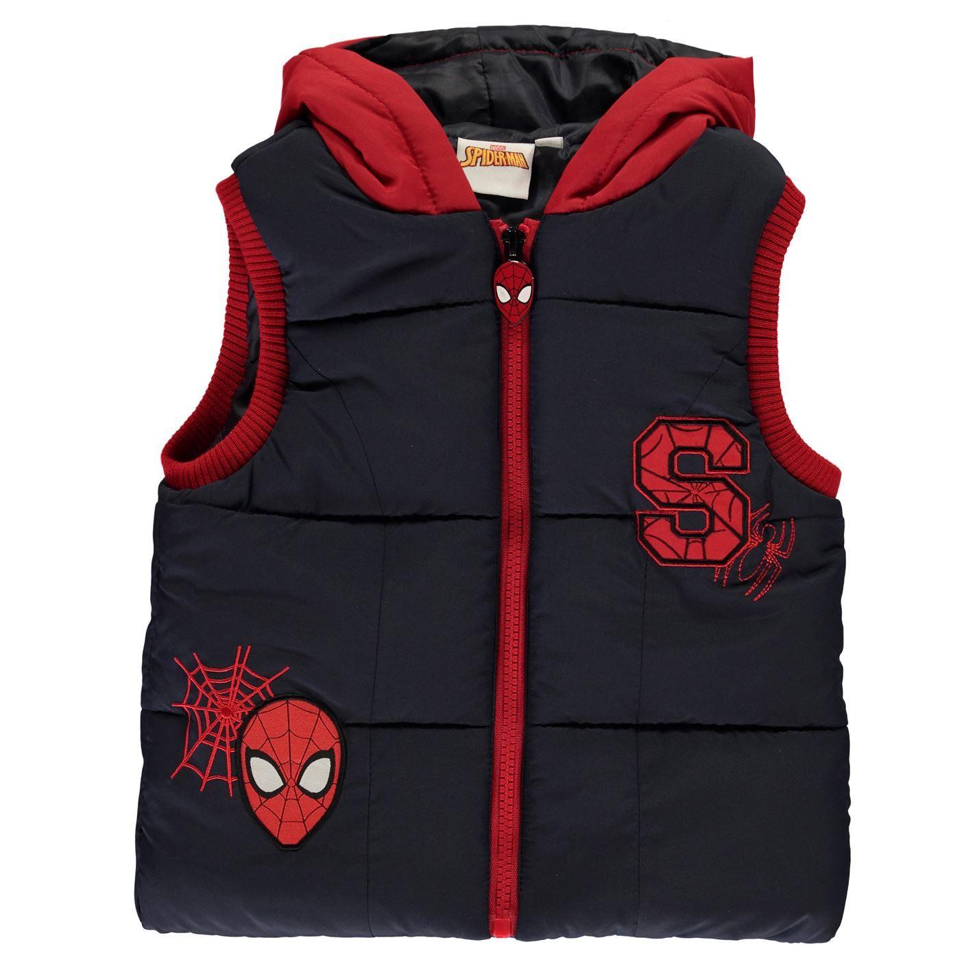 Character Boys Kids Gilet Set Full Zip Hooded T-Shirt Joggers Sports Lightweight