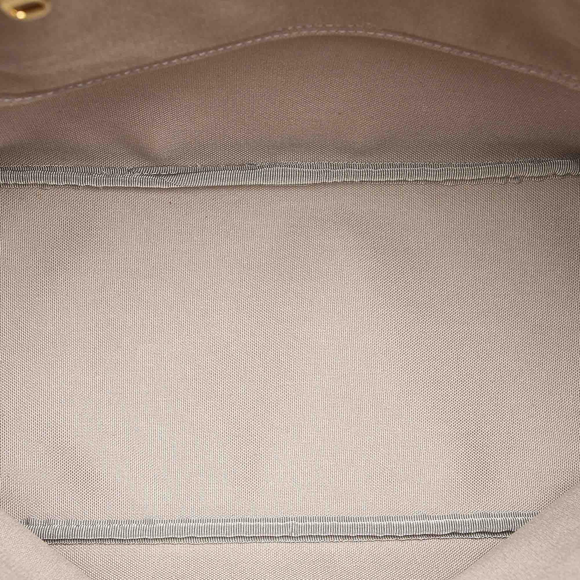 Vintage Loewe Printed Anagram Tote Bag Black