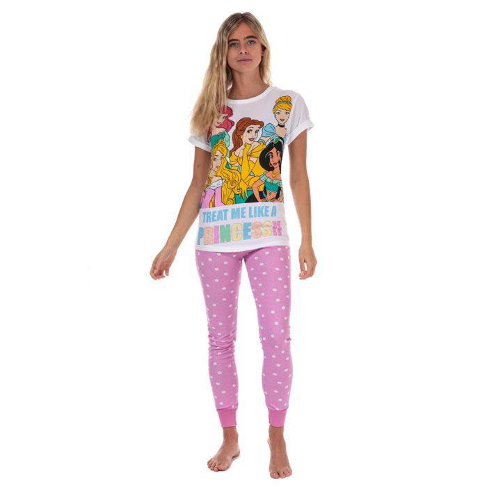 Women's Disney Princess Pyjamas in Pink