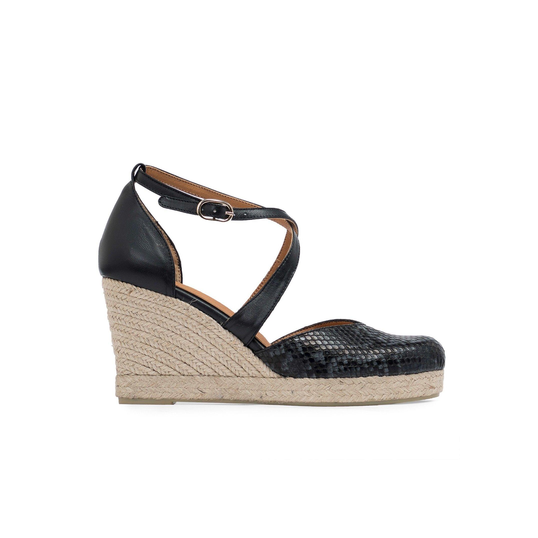 Eva Lopez Ankle Strap Wedge Sandals Women Summer