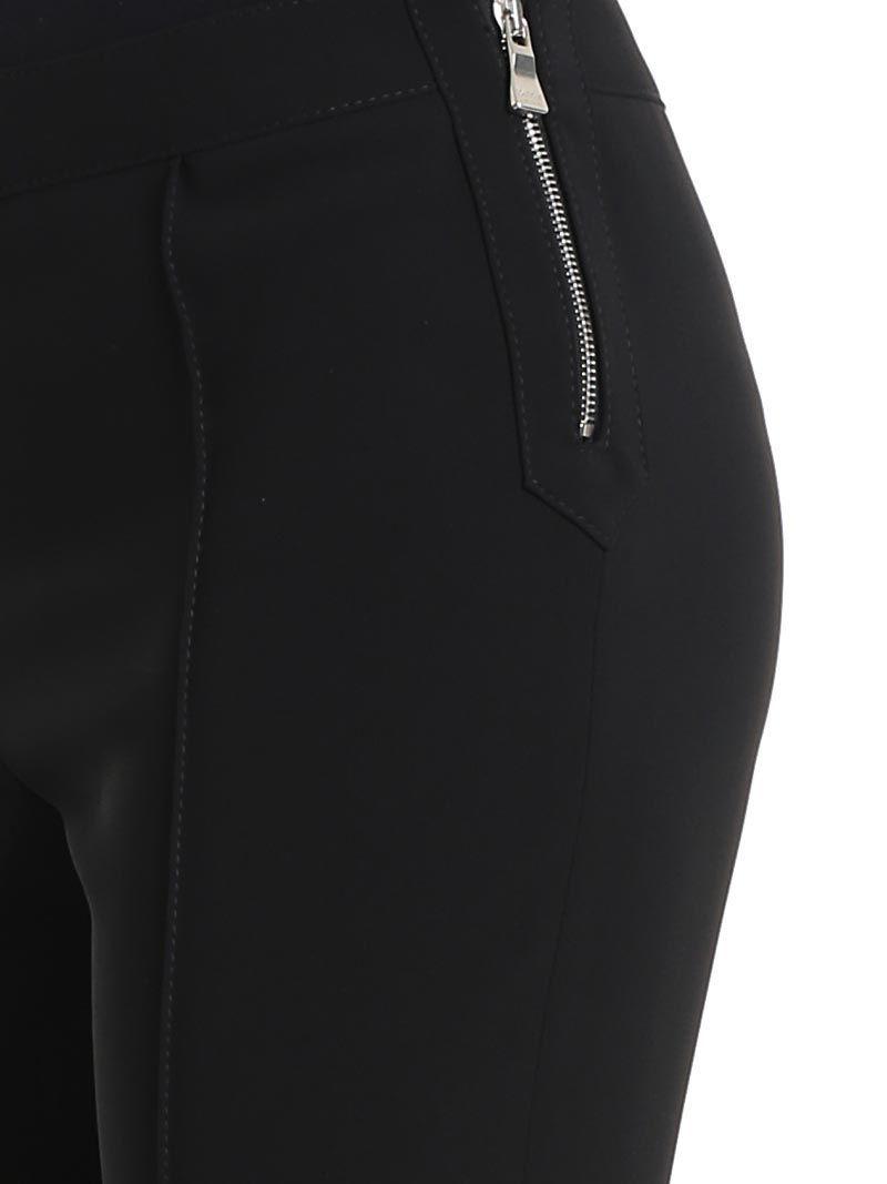 BOUTIQUE MOSCHINO WOMEN'S A031311240555 BLACK ACETATE PANTS