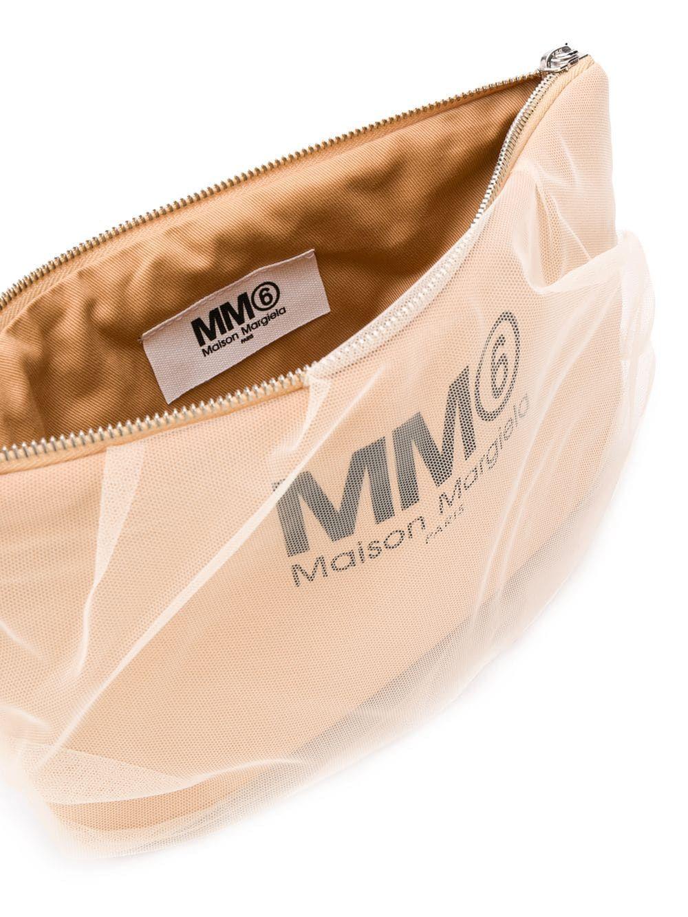 MAISON MARGIELA WOMEN'S S54WF0037P2727H4653 PINK SYNTHETIC FIBERS POUCH