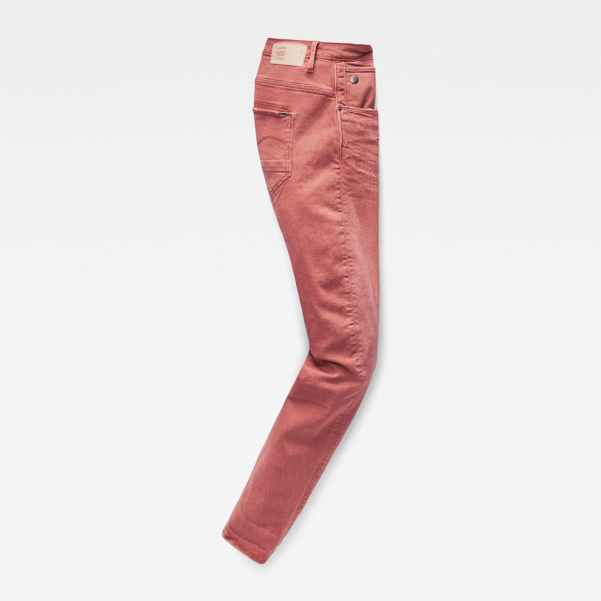 G-Star Raw Arc 3D Low Boyfriend Earthtrace Restored Colored Jeans
