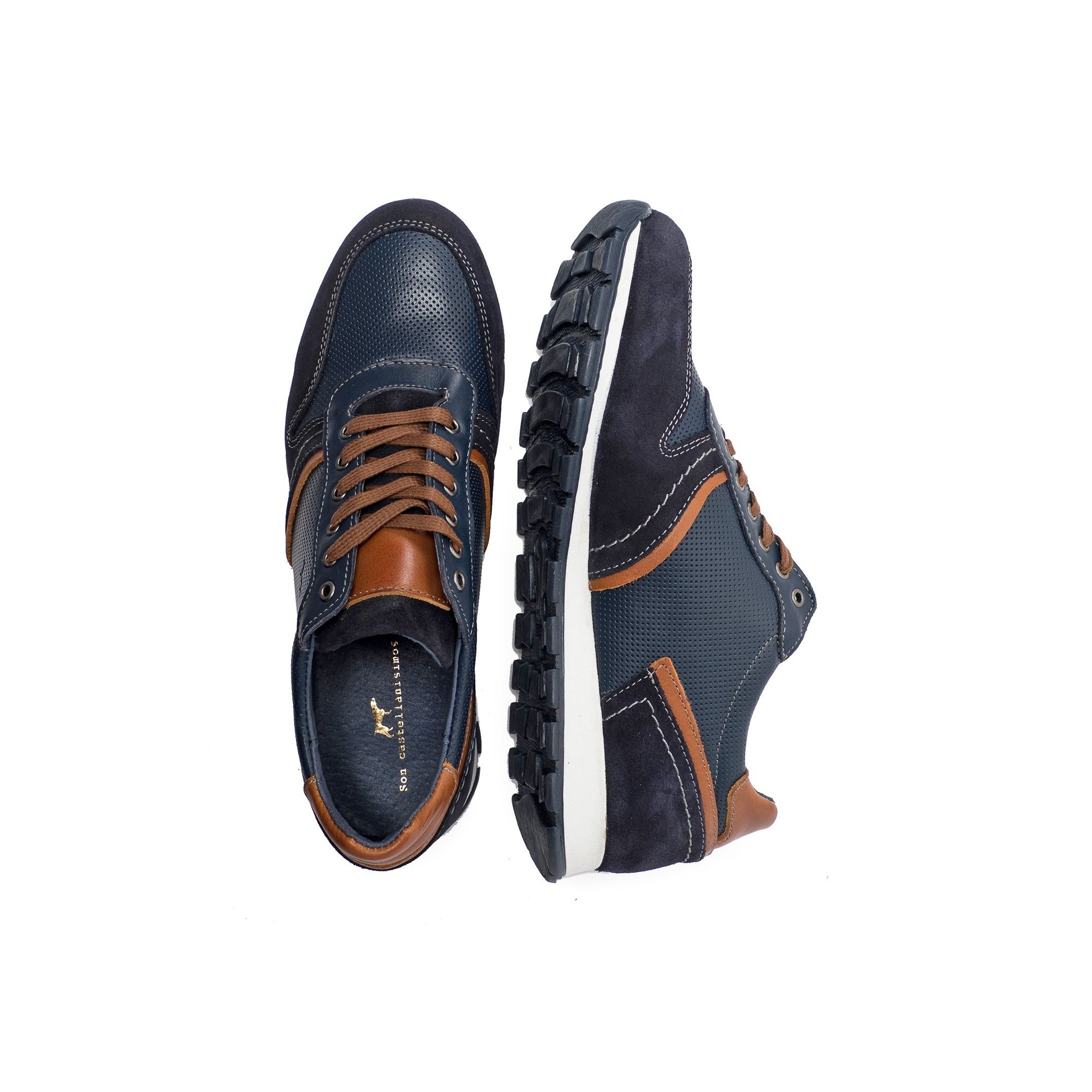 Leather Sneakers for Men