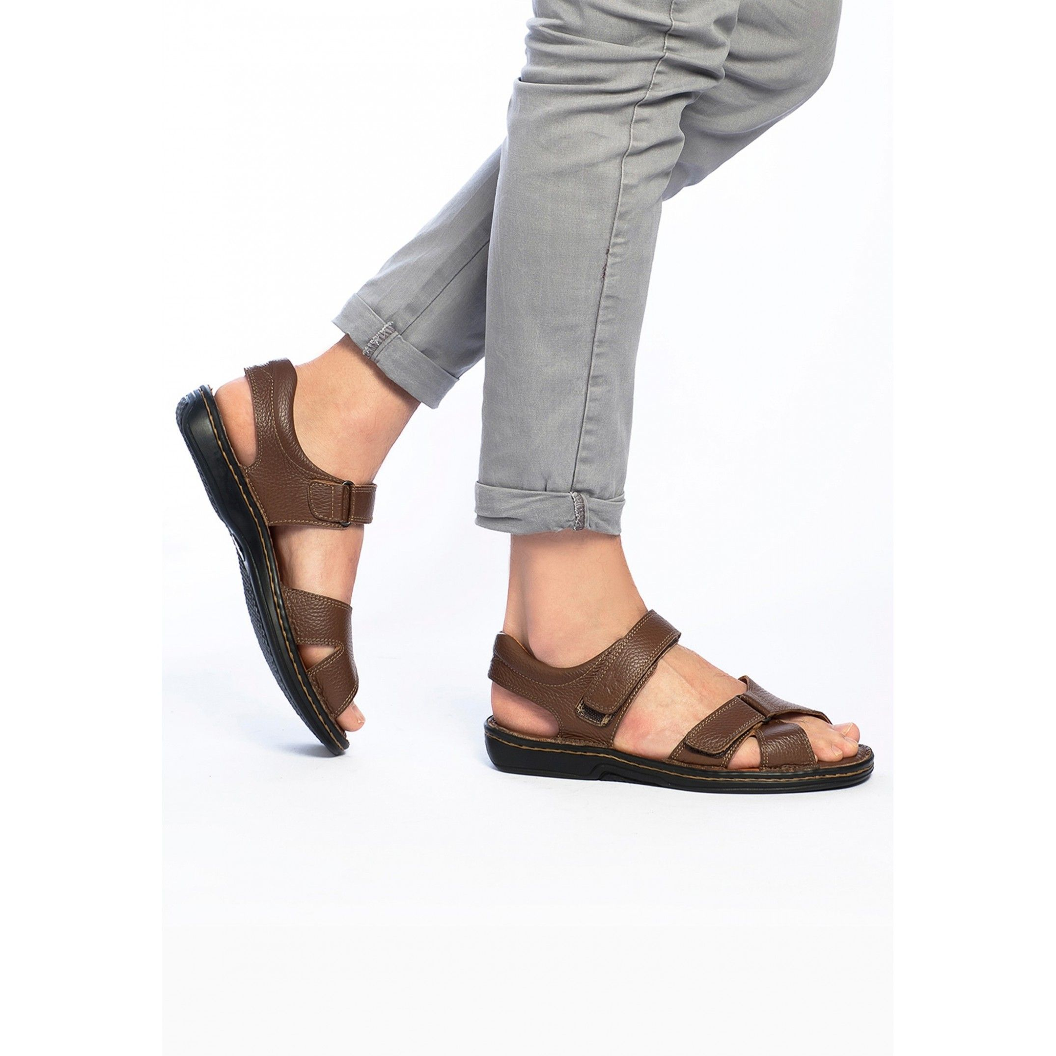 Leather Sandals for Men