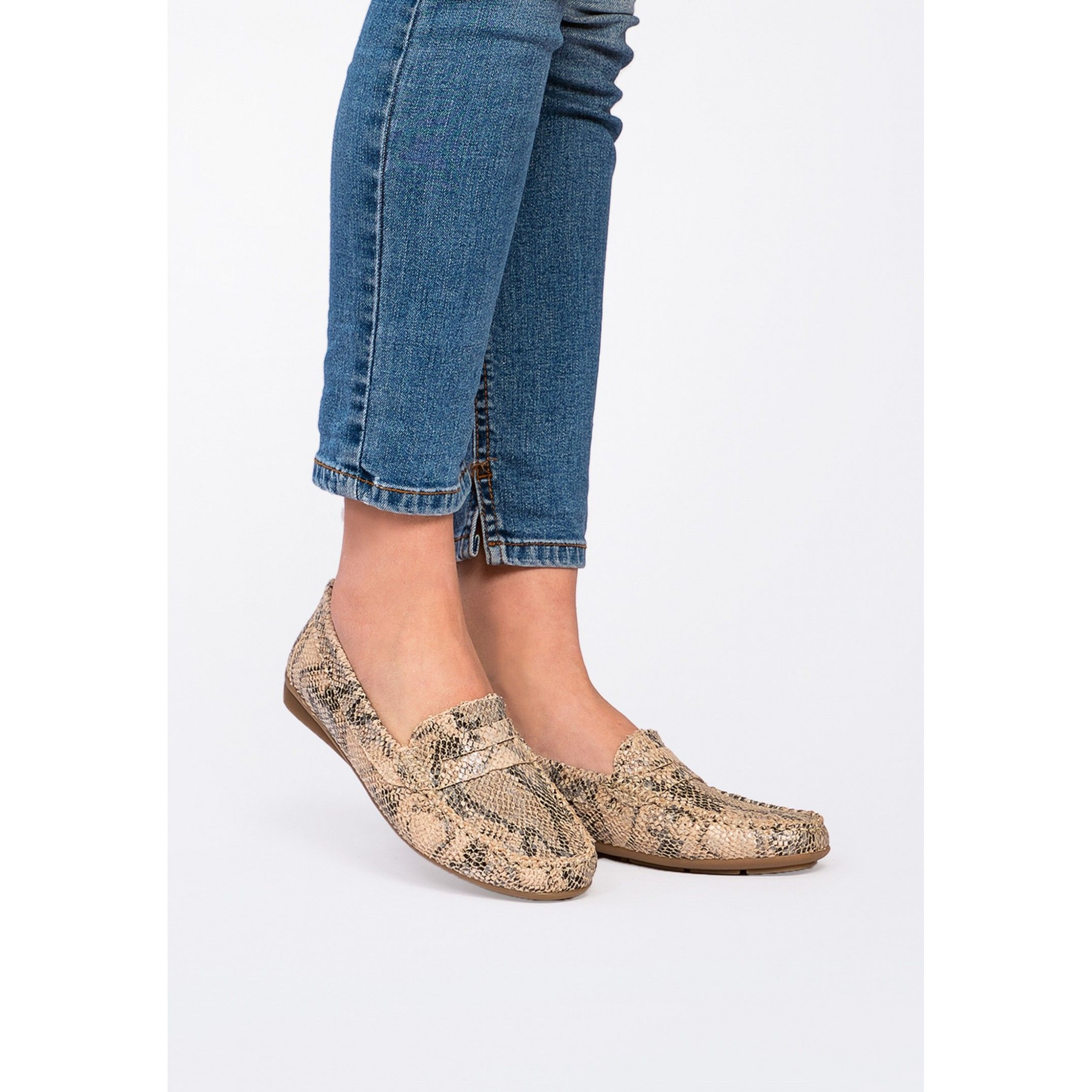 Women's Loafers in Animal