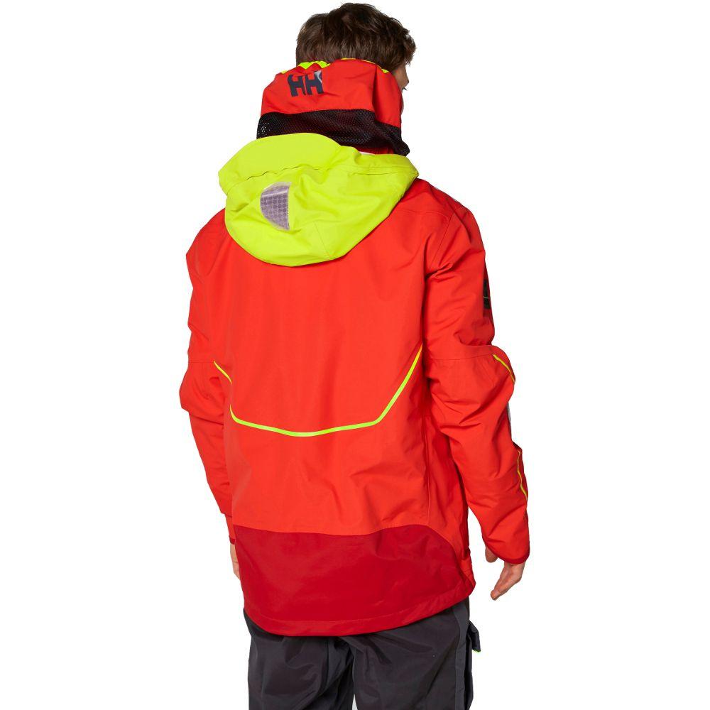 Helly Hansen Mens Aegir Race Light Sailing Waterproof Coat Jacket
