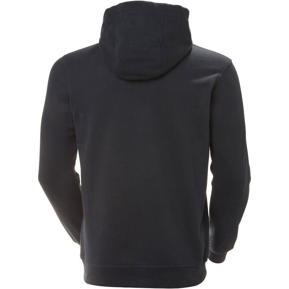 Helly Hansen Mens HH Logo Kangaroo Cotton Casual Summer Hoodie Sweater