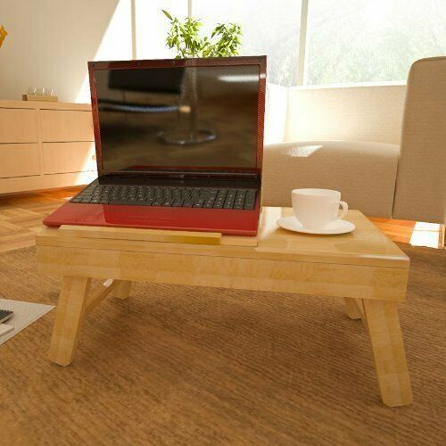 Furinno FNCL-33009 Bamboo AdJustable Notebook Lapdesk, Natural